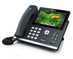 Photo of business phone.